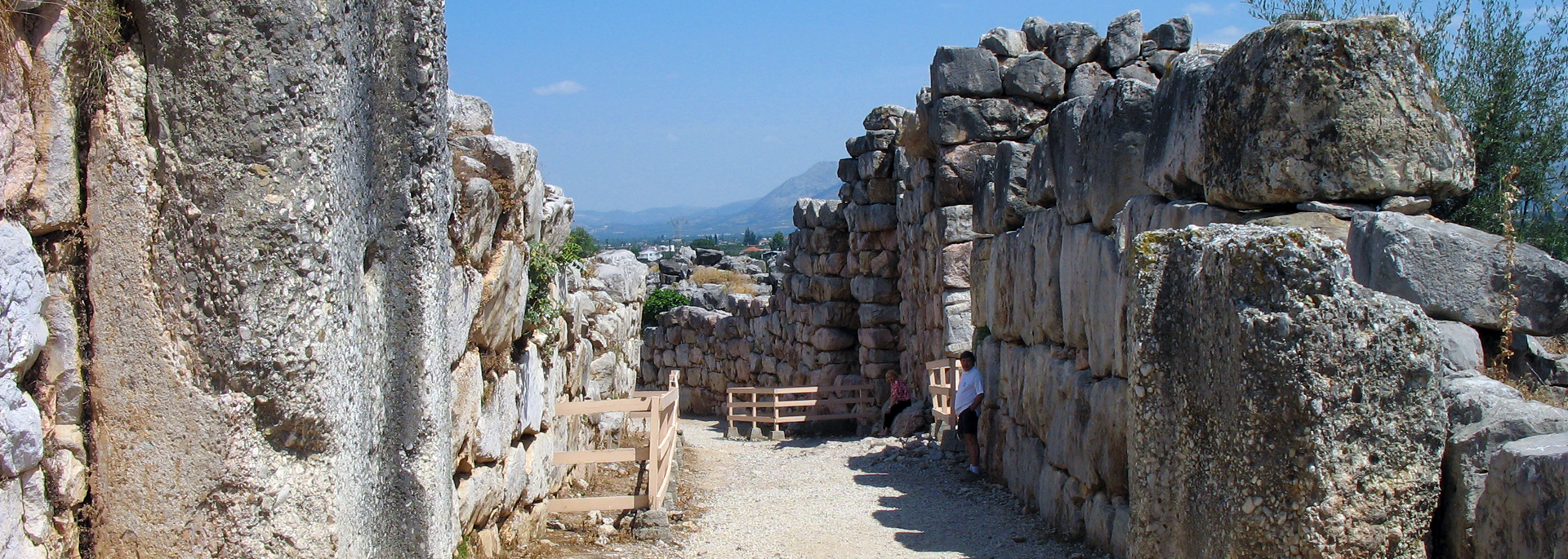 Entrance to Ancient Tiryns