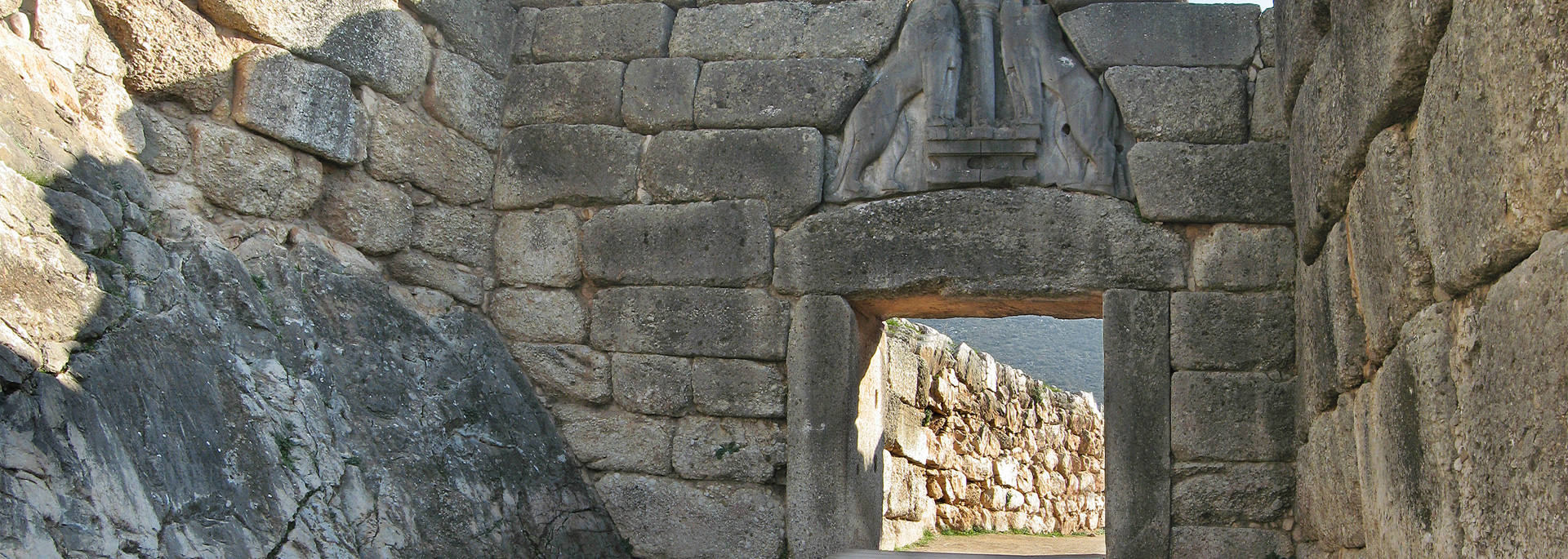 The Lions' Gate of Mycenae